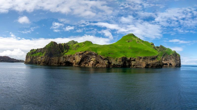 Vestmannaeyjar island in south Iceland, Westman Islands