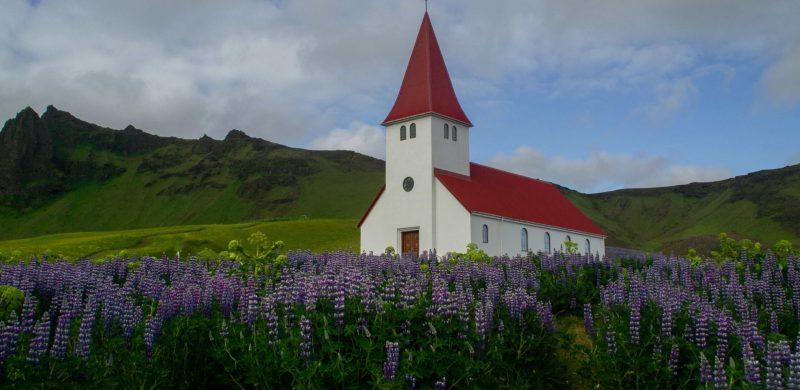 Vík í Mýrdal, the church in Vík, Iceland Travel Guide