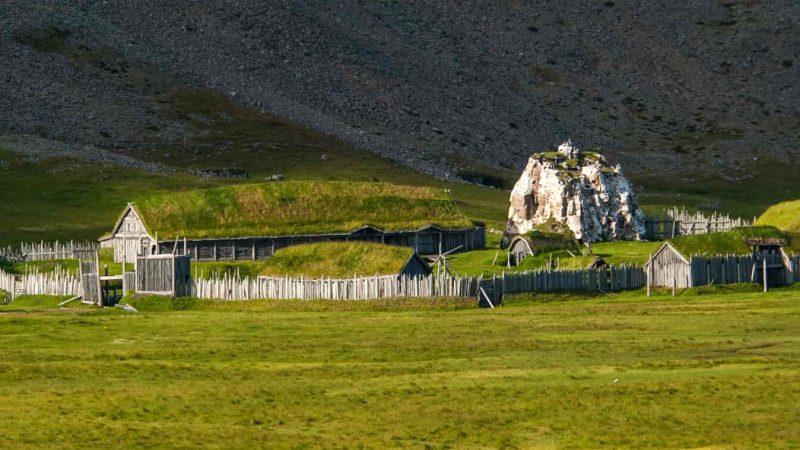 Viking village in Iceland