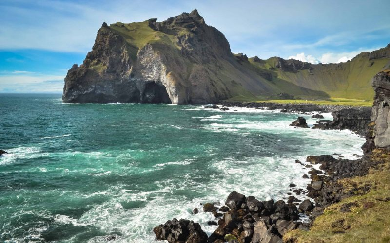 Westman Islands in south Iceland