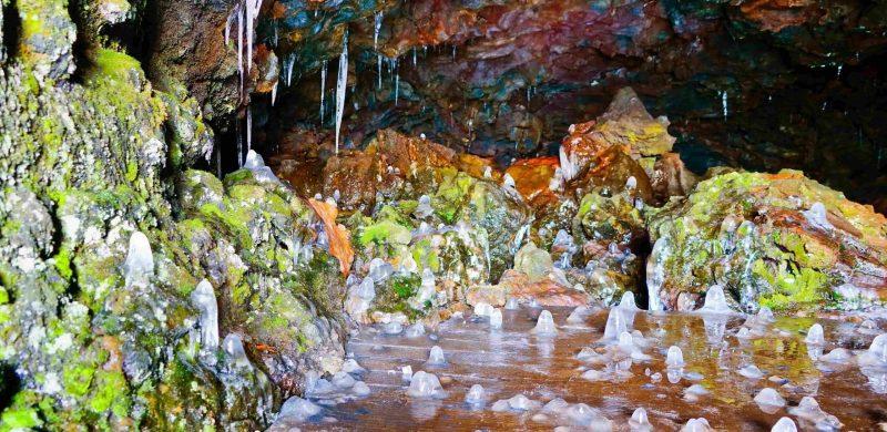 Vatnshellir lava cave in Snæfellsnes Peninsula