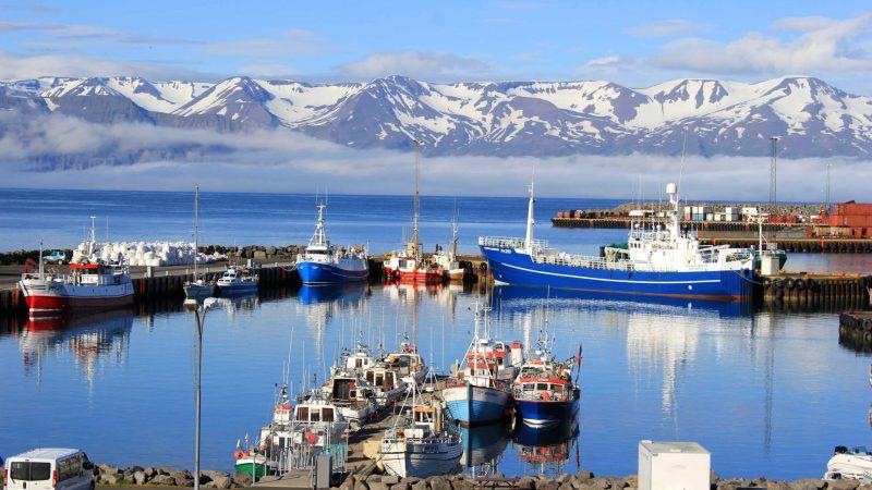 Akureyri fishing boats