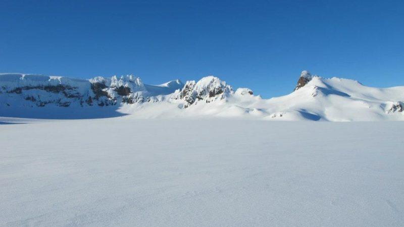 Vatnajokull the largest glacier in europe