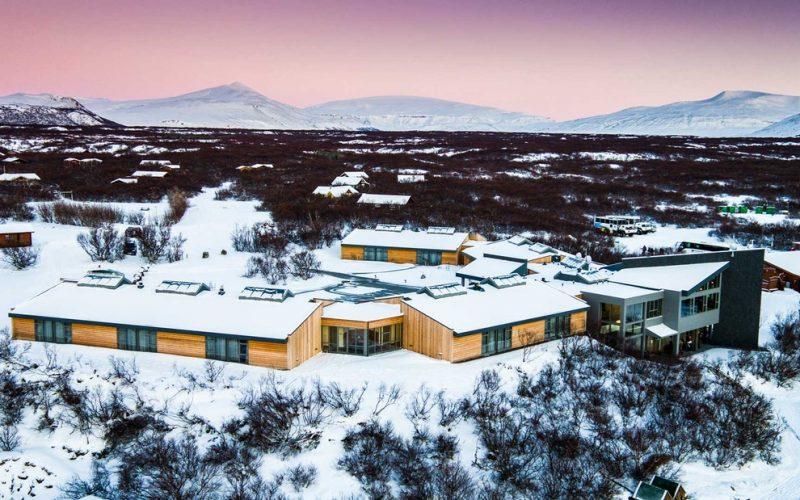 Húsafell in west Iceland