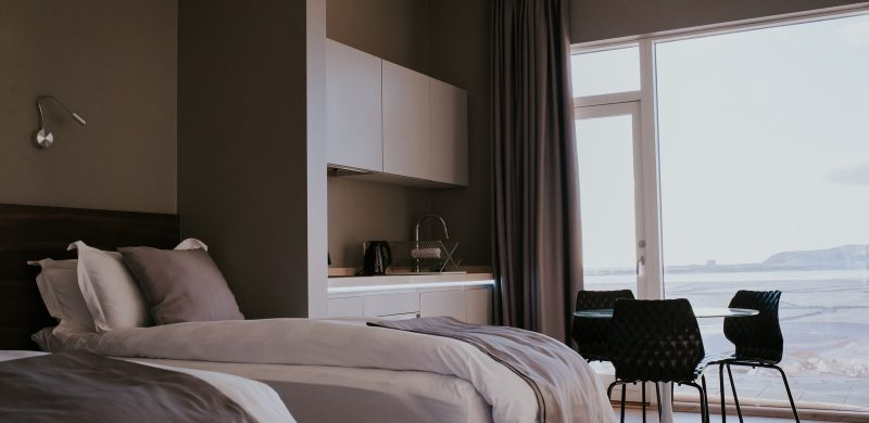 Black Beach Suites hotel in south Iceland