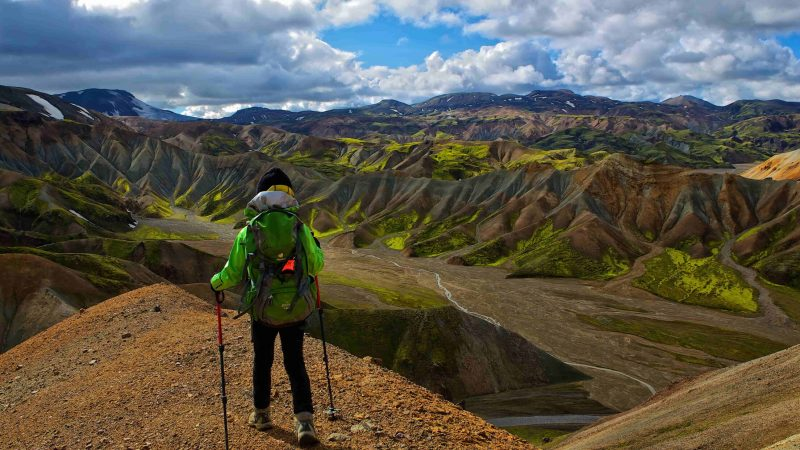 Highland Hiking in Iceland