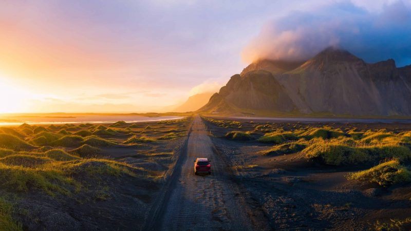 Iceland road trip self driving