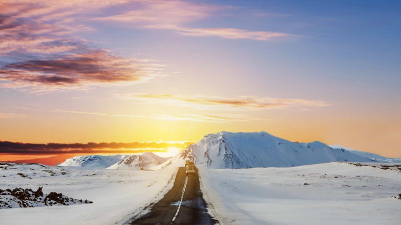 winter Self Driving road trip in Iceland