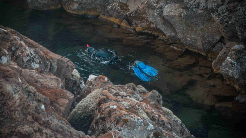 snorkel in Silfra